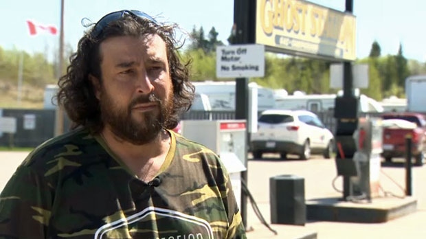 Joe Cassidy, a Ghost Station employee, chased and apprehended one of the suspects following the crash on Highway 1A