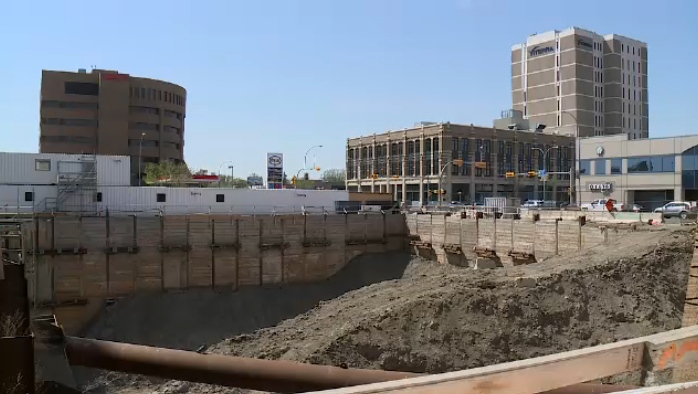 Capital Pointe site on May 16, 2018.