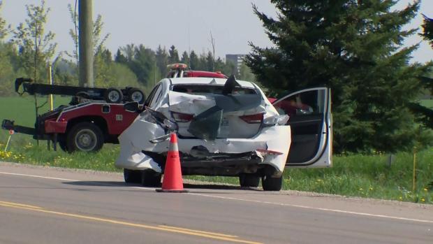Sawmill Road crash