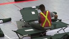 Evacuees take shelter in Saskatoon