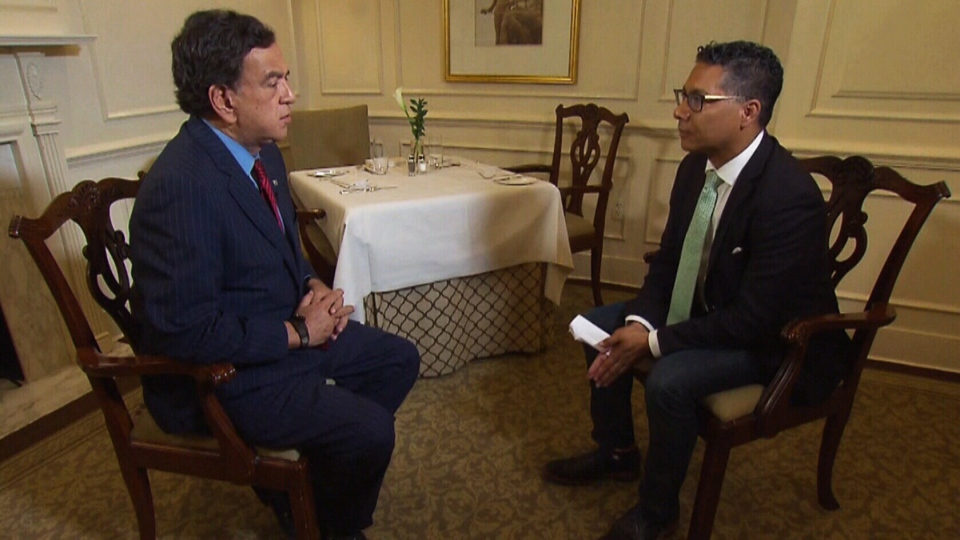 Former U.S. Ambassador to the United Nations Bill Richardson, who has also served as a negotiator with North Korea, speaks with CTV's Washington Bureau Correspondent Richard Madan.
