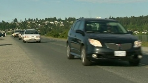 Vehicles are seen travelling along Ocean Boulevard: 2018, (CTV News)