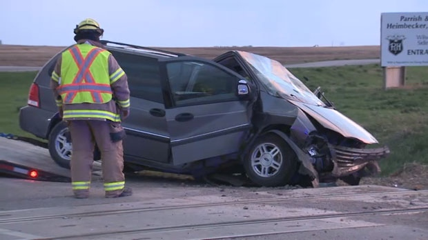 Single vehicle accident near Coaldale claims three