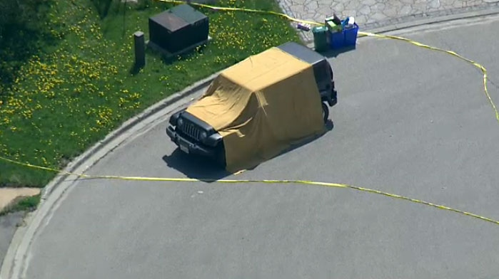 Police in York Region are investigating after the body of a man was found in a vehicle outside a Richmond Hill home on May 17, 2018.