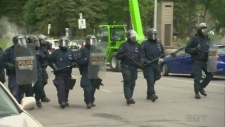 police, riot gear