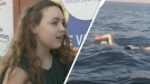 15-year-old Maya Farrell of Ottawa plans to swim across the widest span of Lake Ontario in July of 2018.