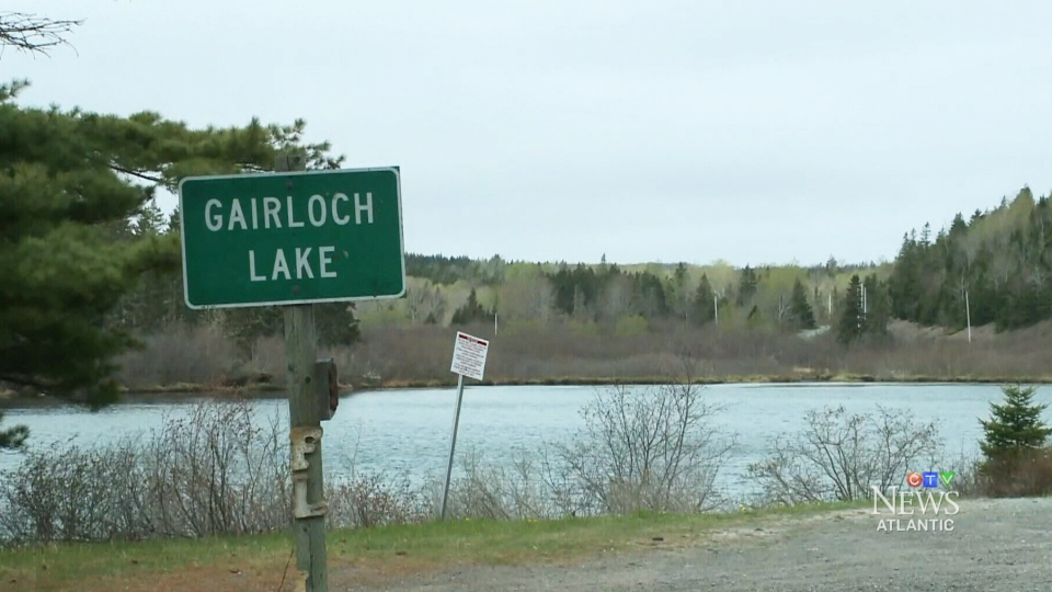 Gairloch Lake is about 150 kilometres northeast of Halifax.