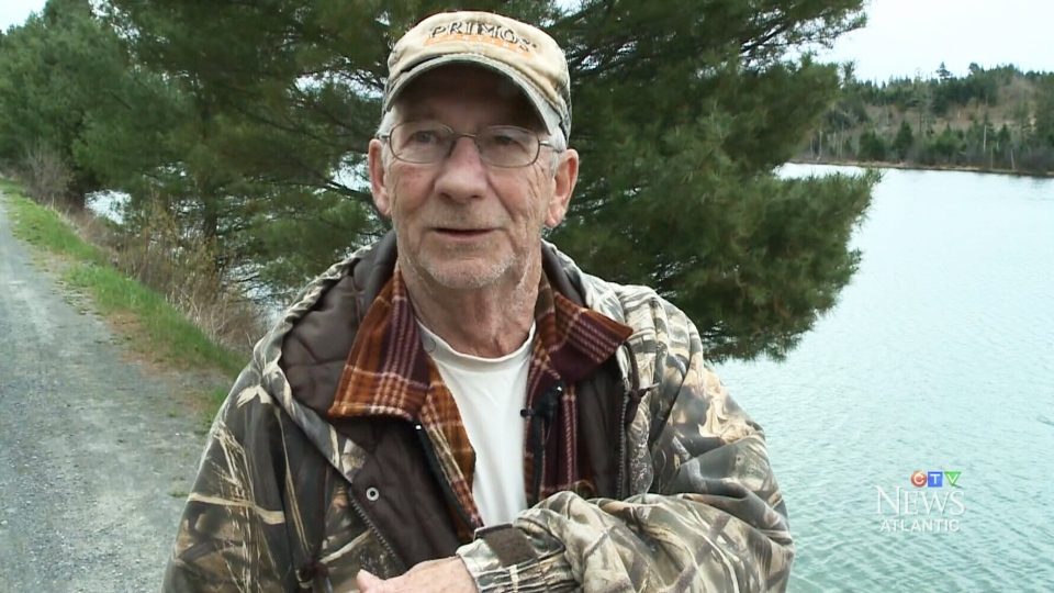 Paul Hart, 73, insists he 'didn't do anything special' when he came to a fellow fisherman's aid.