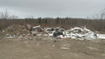 A Reserve Mines man has been charged after an investigation into an illegal dumpsite. CTV's Kyle Moore reports.