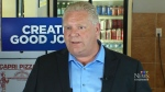 Doug Ford talks small business in Waterloo Region
