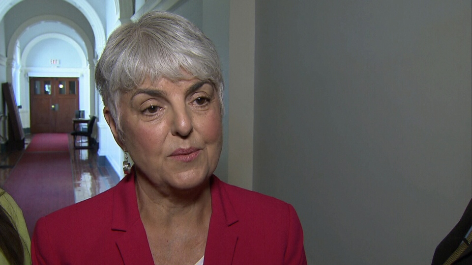 Finance Minister Carole James speaks to CTV News on May 17, 2018.