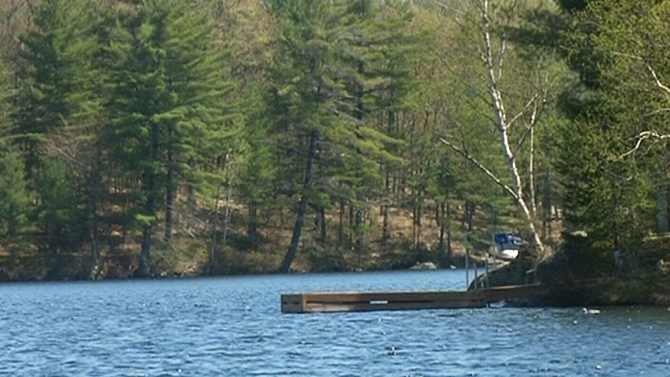 "Myers Lake has banned ""yelling, shouting, hooting, whistling, singing"" at all hours.(CTV)"