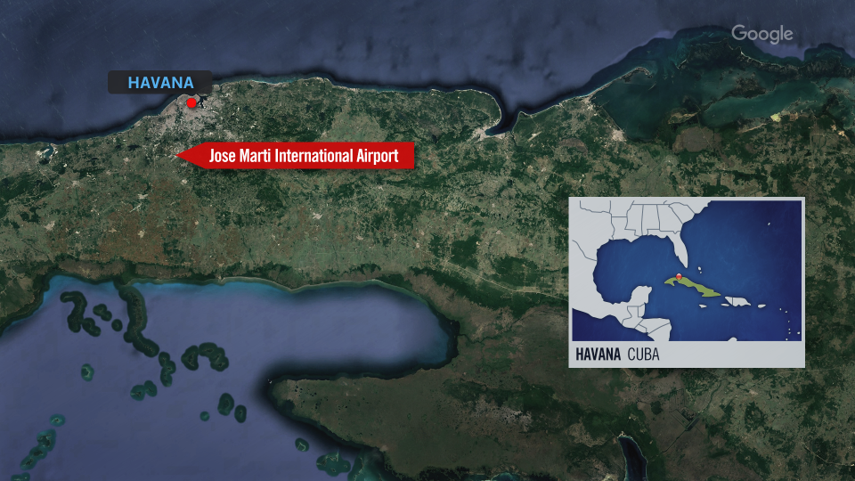 Jose Marti International Airport in Cuba