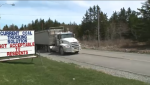 Donkin residents want road built for coal trucks
