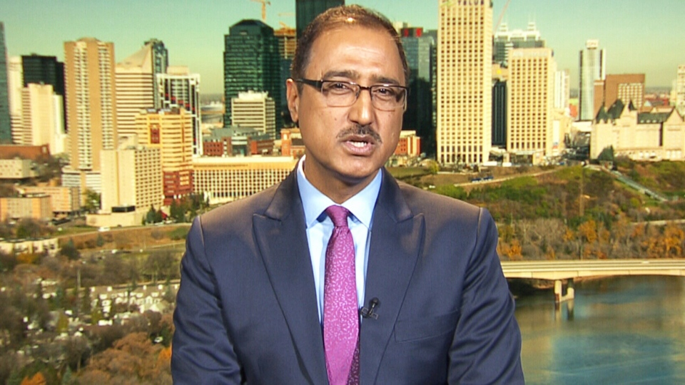 Infrastructure Minister Amarjeet Sohi on CTV's Question Period.