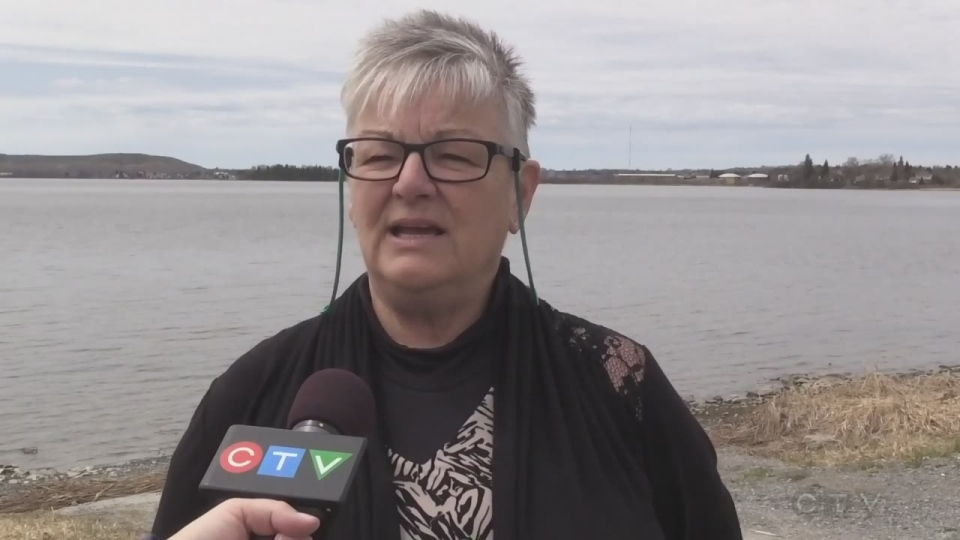 Brenda Torresan of the Porcupine Lake Info Group