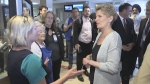 Wynne makes campaign stop in Alliston