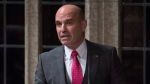 """NDP MP Nathan Cullen rises in the House of Commons in Ottawa on Wednesday, October 25, 2017. Ever been confronted with a situation and thought to yourself: """"There should be a law against that?"""" If so, Cullen has a contest for you.THE CANADIAN PRESS/Adrian Wyld"""