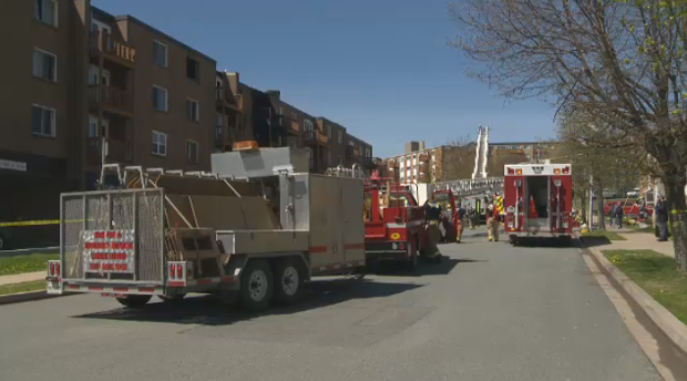 One person has died after an early-morning apartment fire in North End Dartmouth.