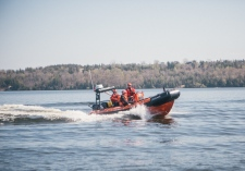 Canadian Coast Guard's inshore rescue boat