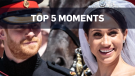 Harry and Meghan's wedding: Top 5 moments