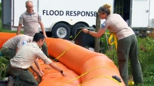 CTV News Channel: Army assists with flood relief