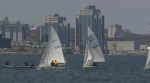 Sea Cadets from four Atlantic provinces took to the Halifax Harbour to compete for a chance to represent the region at the Sea Cadet National Regatta.