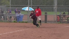 Slugging for Special Olympics Barrie