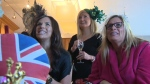 Local watchers gather for royal wedding