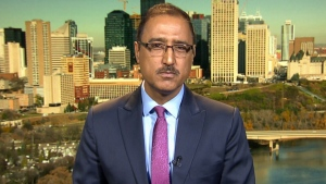Infrastructure Minister Amarjeet Sohi on CTV's Question Period on Sunday, May 20, 2018. (CTV News)