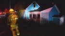 One man  was airlifted to Halifax's QEII hospital after sustaining injuries in a fire that broke out Saturday night at an Annapolis County home. (Bill Roberts)