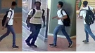 Police are looking for a man described as a 5'8 black man with a small build and weighing 150lbs. (File)