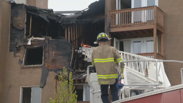 Police and fire crews spent Sunday on the scene of a fatal apartment fire in Dartmouth, more than 36 hours after the original call came in.