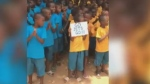 Jets cheered on from West Africa