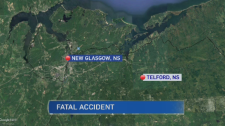 A two vehicle crash in the early hours of Sunday has killed one man and sent a woman to hospital with serious injuries.