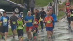 Nearly 11,000 runners hit the streets for the 15th annual Bluenose Marathon
