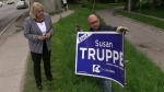 CTV London: Election signs damaged