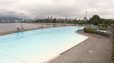 Vancouver's Kitsilano Pool after its $3.3 million facelift.