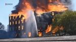 Downtown Brandon burned down