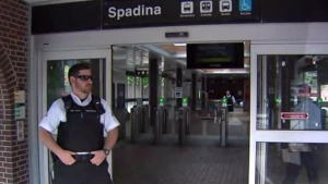 Toronto police are investigating after an apparently random stabbing at Spadina Station Sunday May 20, 2018.