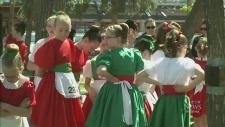 Highland Gathering and Festival visits Regina