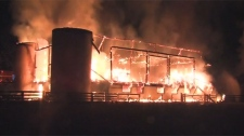 Sunnybrook Stables, fire