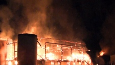 Sunnybrook Stables fire