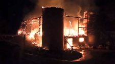 The Office of the Ontario Fire Marshal is investigating a blaze that killed 16 horses at Sunnybrook Stables in North York on May 21, 2018.