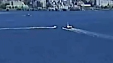 Video of close call on Burrard Inlet