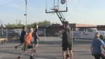 New basketball courts in Orillia