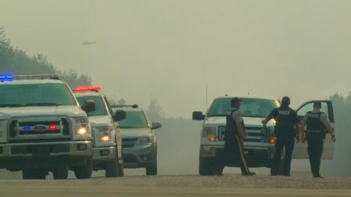 Smoke causing road closures around Prince Albert National Park