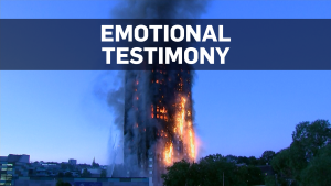 Grenfell Tower fire: Emotional inquiry begins