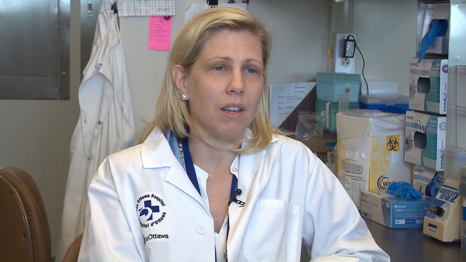 Dr. Rebecca Auer of the The Ottawa Hospital Research Institute speaks to CTV News about her novel approach to fighting cancer after surgery.