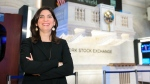 The New York Stock Exchange has named its first female leader in the history of the 226-year-old exchange. Stacey Cunningham will become the 67th president. (NYSE/Twitter)